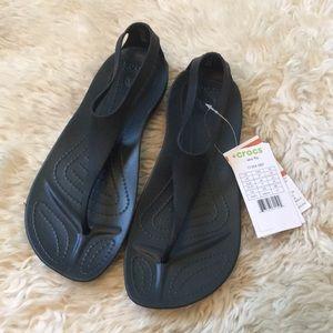 NWT crocs sandals